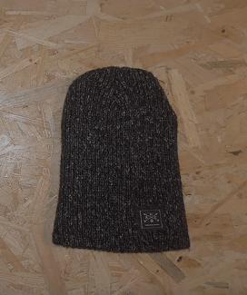 bonnet long carré gauch noir