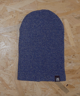 bonnet long pincé Hbleu