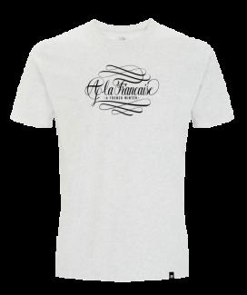 T shirt ALF melange white