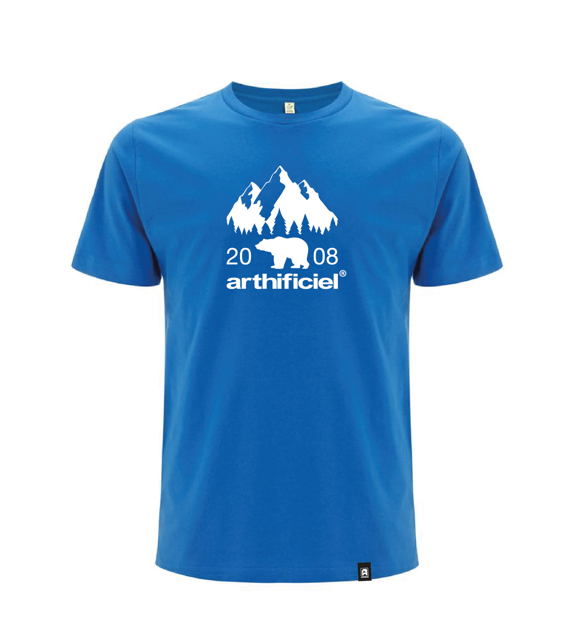 21€ T shirt EP01 Royal blue