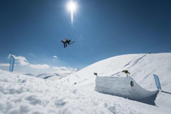 Snowpark Les Sybelles // Alban PernetPernet